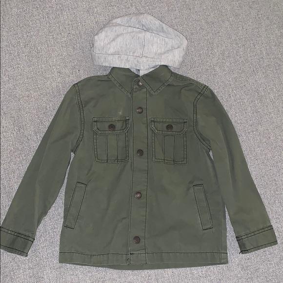 edb9b00d37f Tucker + Tate Jackets & Coats | Tucker Tate Army Green Hooded Jacket ...